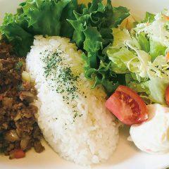 ラムドライカレーセット(スープ・サラダ付)