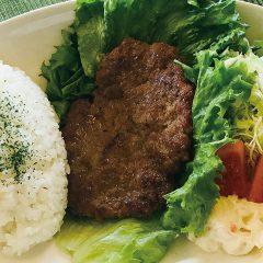 ラムハンバーグセット(スープ・サラダ付)